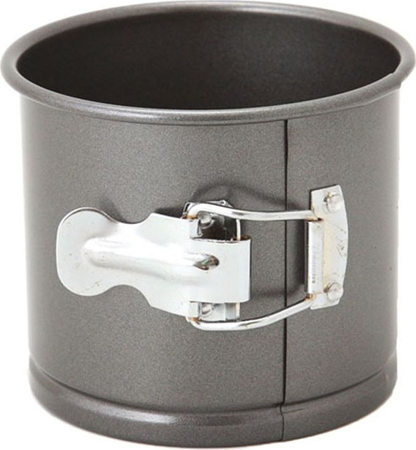 Фото - Форма для выпечки Agness, разъемная, с антипригарным покрытием, 708-004, черный, 12 х 10,3 см форма для выпечки travola разъемная с двумя основаниями диаметр 24 см kcm5168b