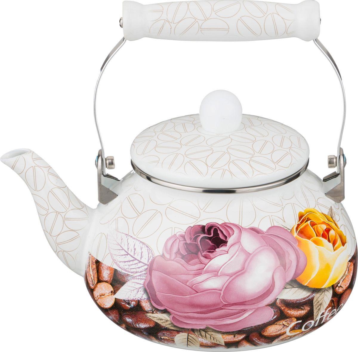 Чайник Agness, 934-342, мультиколор, 2,5 л чайник agness 934 316 мультиколор 4 л