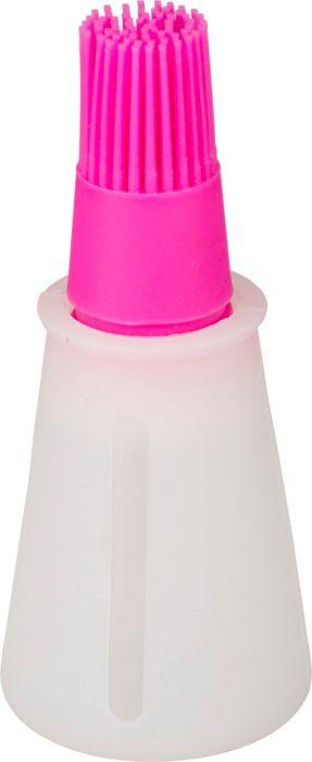 Дозатор Agness, 710-278, белый, розовый, высота 11 см710-278ДОЗАТОР СИЛИКОНОВЫЙ ВЫСОТА=11 СМ.(МАЛ-24/КОР=96ШТ.)