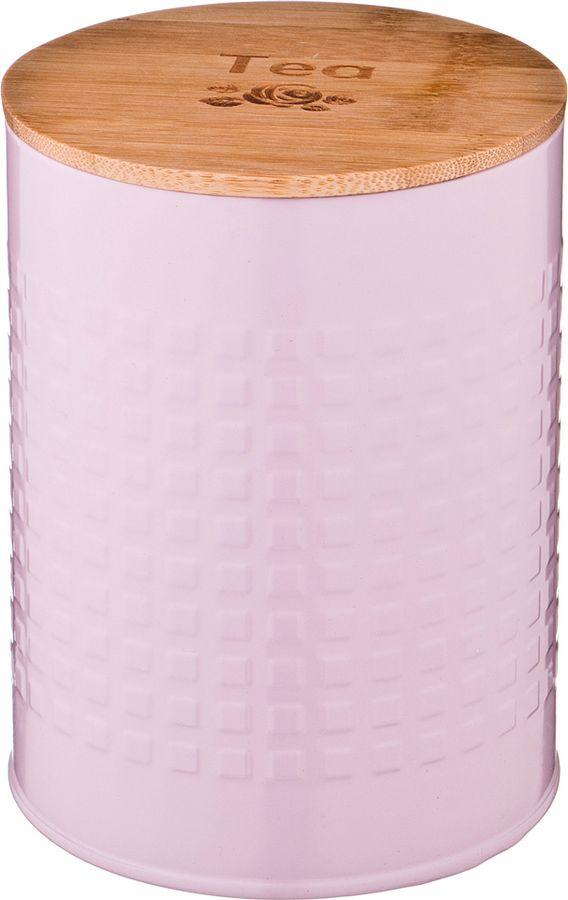 Универсальная емкость Agness, 790-150, розовый, 11 х 11 х 15,5 см
