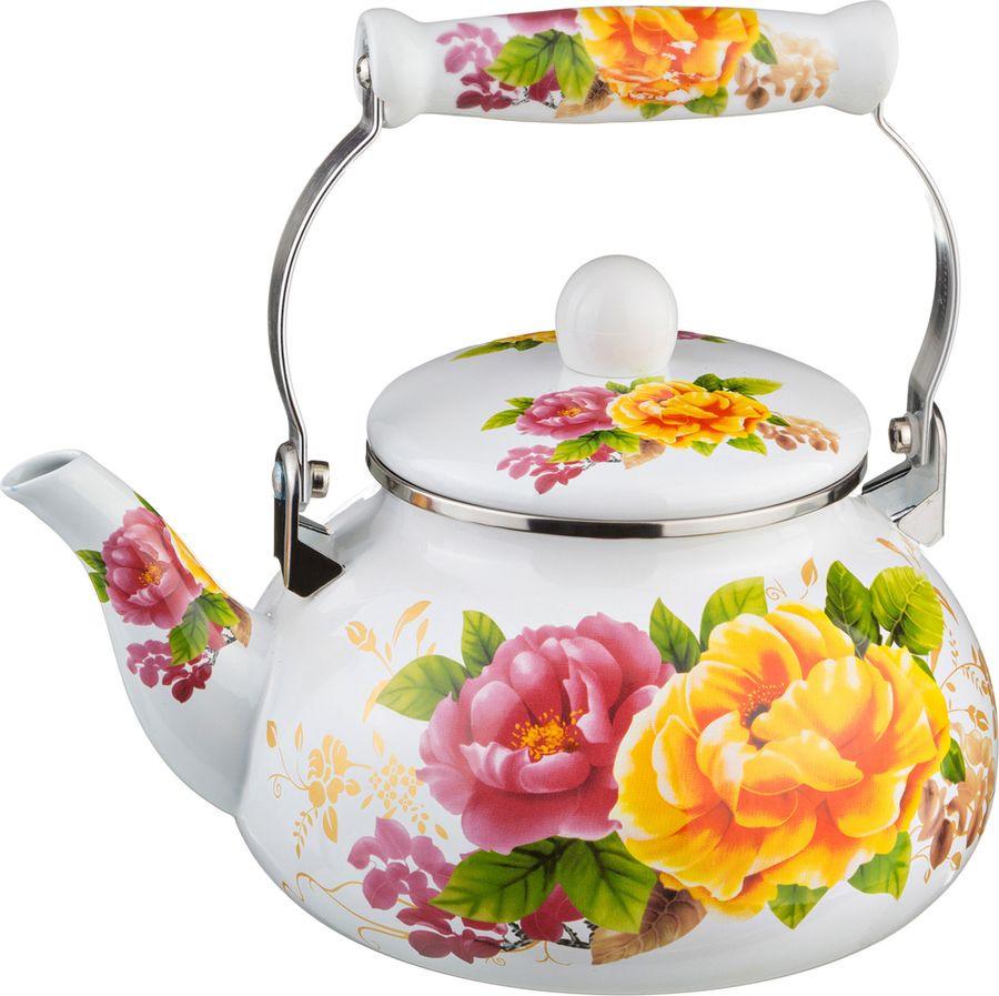 Чайник Agness, 934-304, мультиколор, 2,5 л чайник agness 934 316 мультиколор 4 л