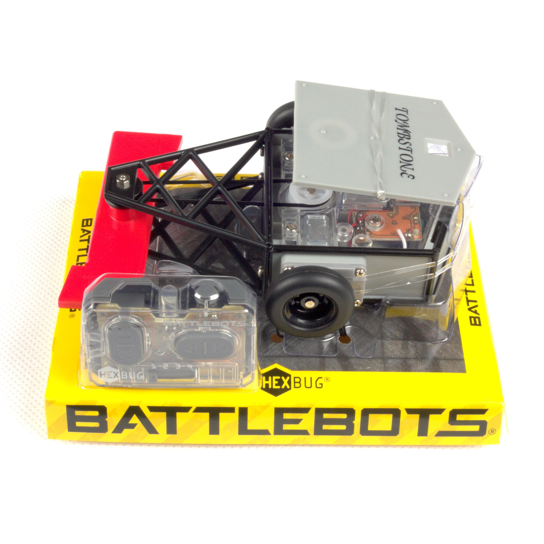 """Игрушечный робот Hexbug Поединки роботов """"Глыба"""" на радиоуправлении черный, красный"""