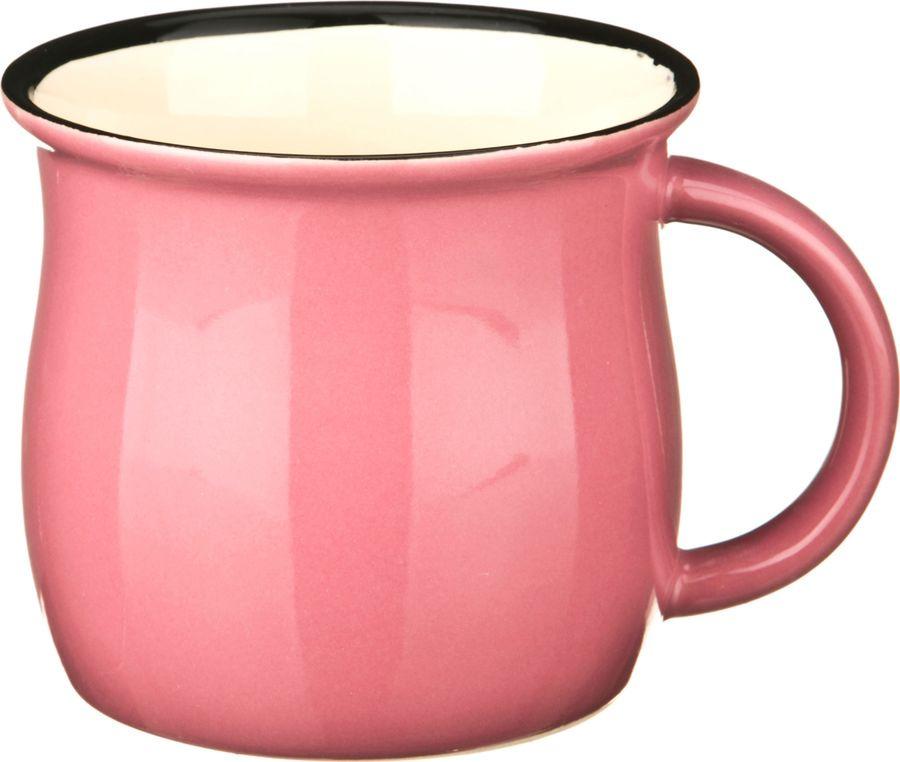 Кружка Agness, 470-207, розовый, 300 мл все цены