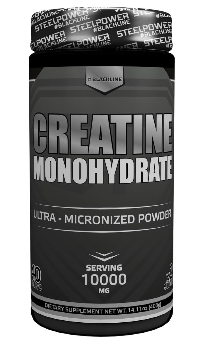Креатин моногидрат SteelPower Nutrition CREATINE 400 г, Без вкуса креатин olimp sport nutrition monohydrate powder 550 г