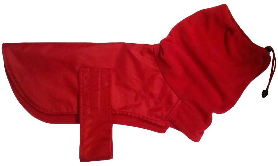 Одежда для собак Монморанси Попона с горлом, красный