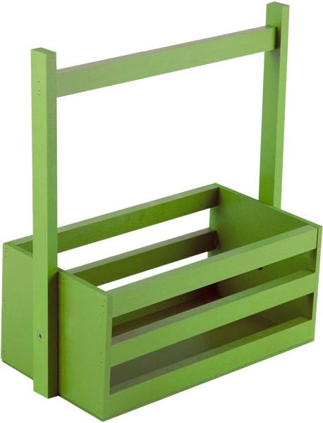 Кашпо Дубравия Ящик большой, зеленый