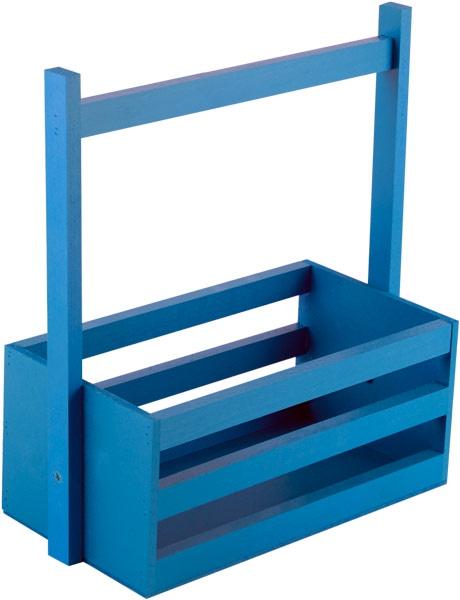 Кашпо Дубравия Ящик большой, синий