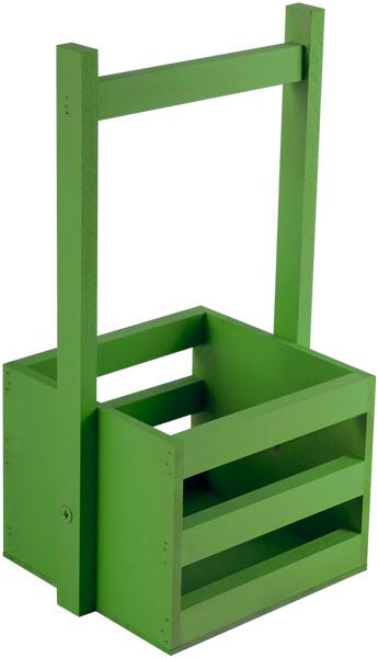 Кашпо Дубравия Ящик малый, зеленый Дубравия
