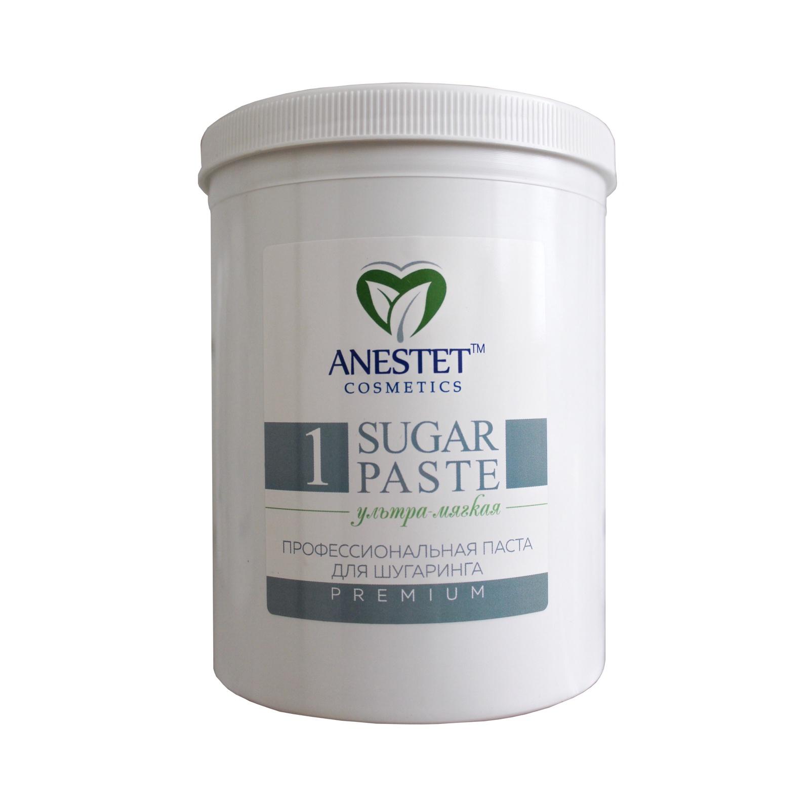 ANESTET Паста ультра-мягкая 1 для шугаринга (Анестет), 1500 гр.