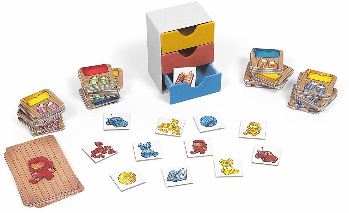 Настольная игра Chicco Toy Playroom настольные игры для 3 лет