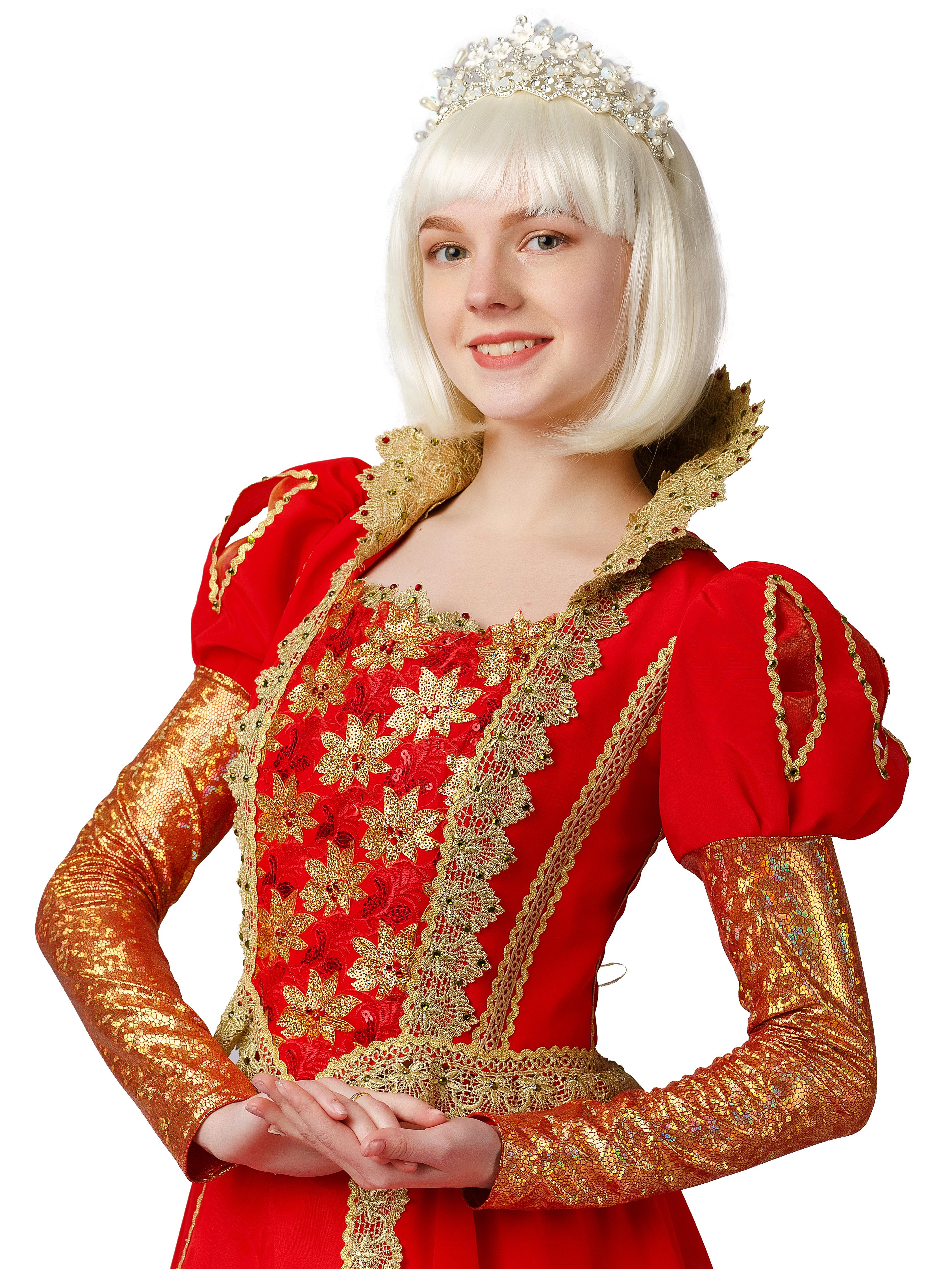 Аксессуар для карнавального костюма Gala-Вальс Парик Каре белый, белый