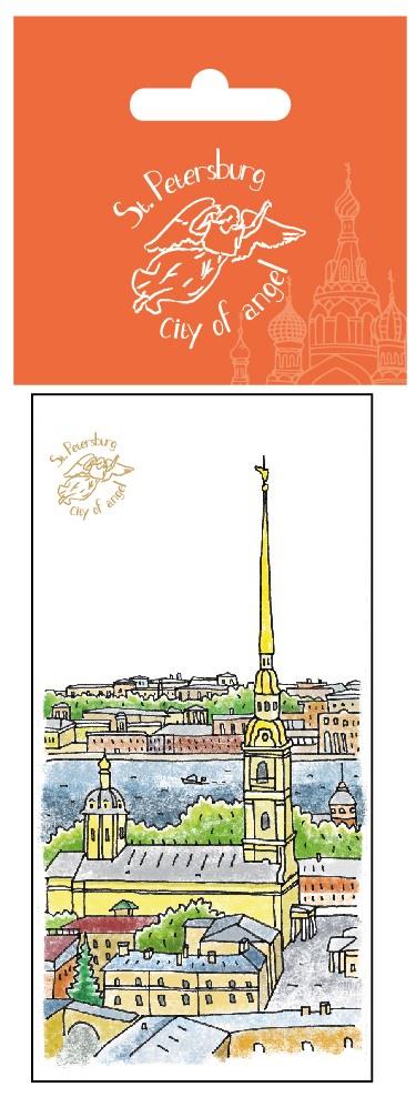 Закладка С Минимакс Петропавловская Крепость минимакс ежедневник на магните 7 5 18см дворцовый мост петропавловская крепость