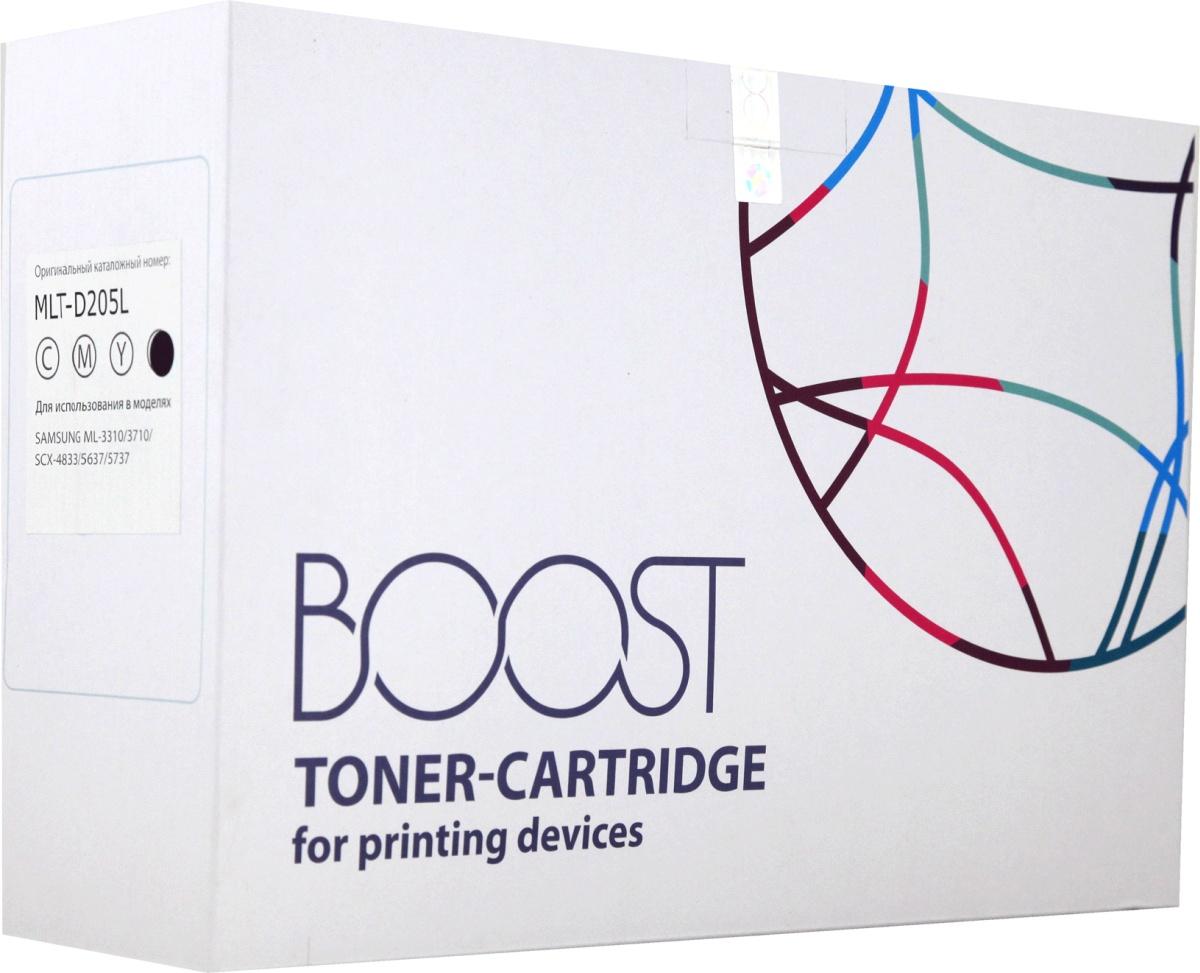 Картридж Boost MLT-D205L, черный картридж easyprint ls 205e для samsung ml 3710nd 3710d scx 5637fr чёрный 10000 страниц с чипом mlt d205e