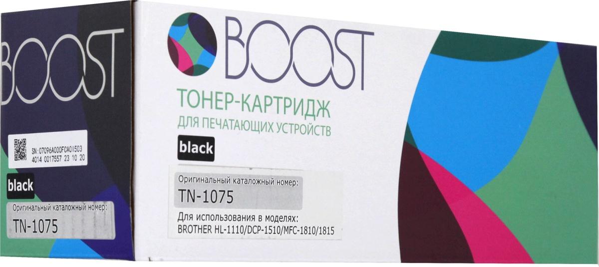 Картридж Boost TN-1075, черный картридж brother tn 1075 для hl 1110r 1112r dcp 1510r 1512r mfc 1810r 1815r черный 1000стр
