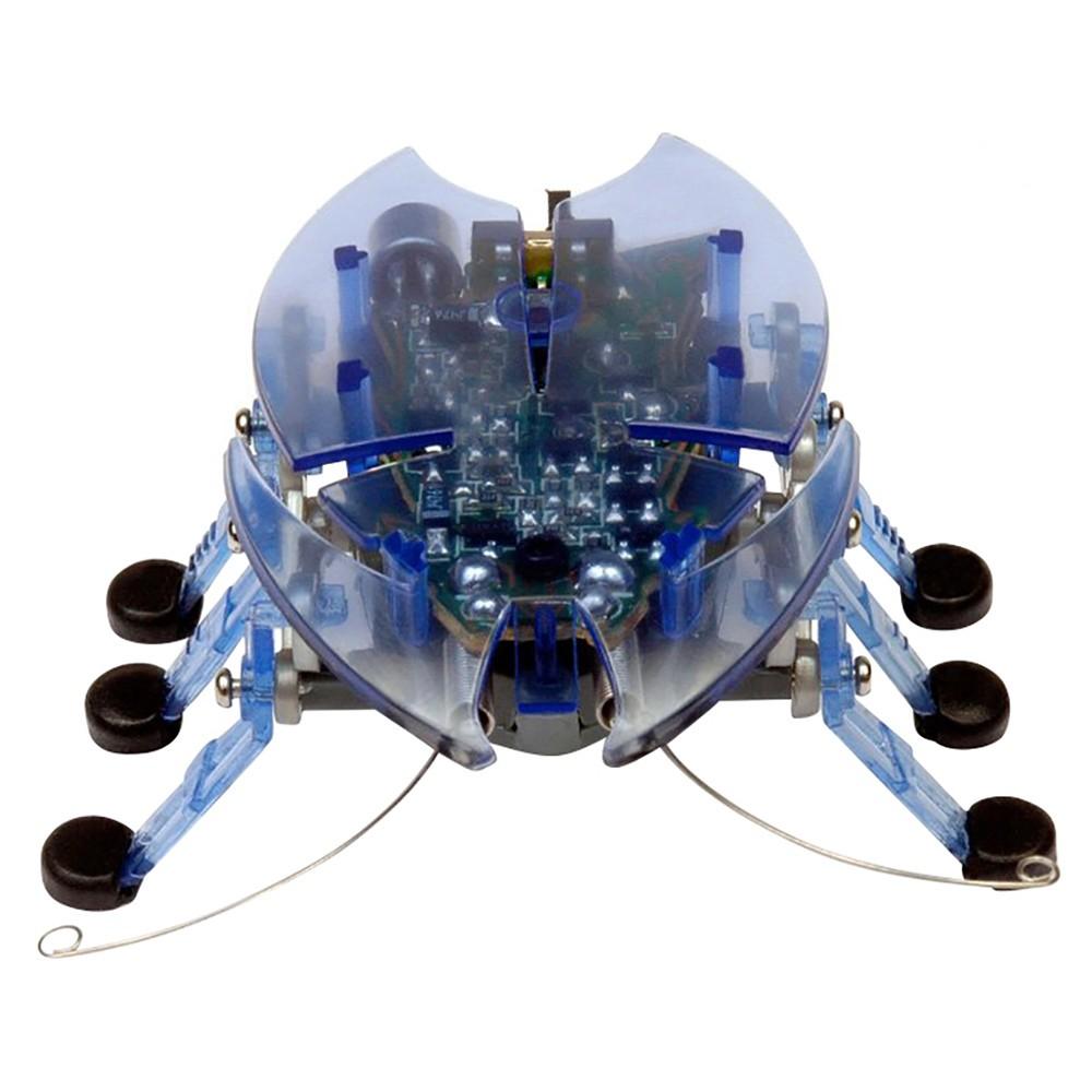 """Игрушечный робот Hexbug """"Жук-усач"""" голубой"""