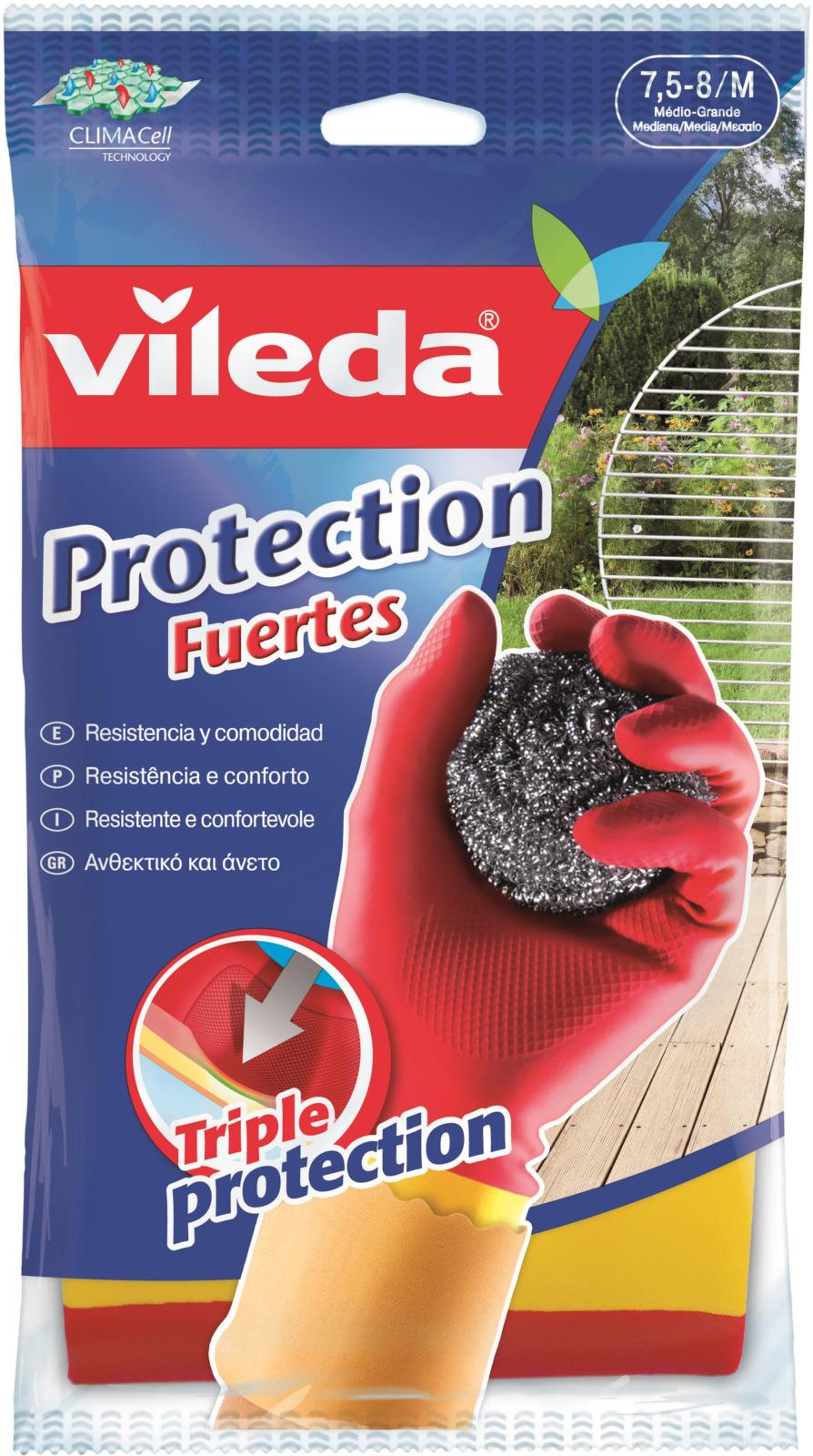 Перчатки Vileda Особо прочные. Размер M