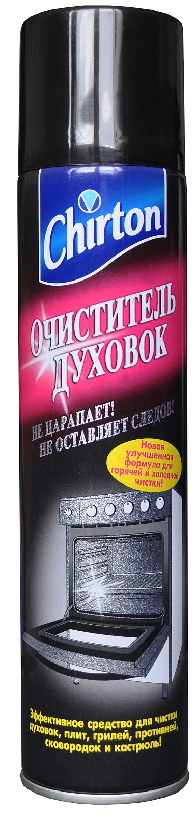 Специальное чистящее средство Chirton ch-175, черный бытовая химия мистер чистер средство для чистки духовок и микроволновых печей 500 мл