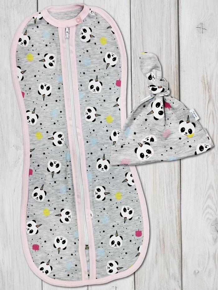 Комплект одежды Веселый малыш для новорожденного шапочка
