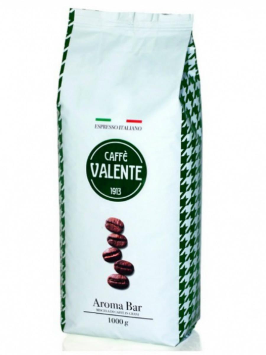 Кофе в зернах Valente Aroma Bar, 1 кг, 1000 pausa aroma bar кофе в зернах 1 кг