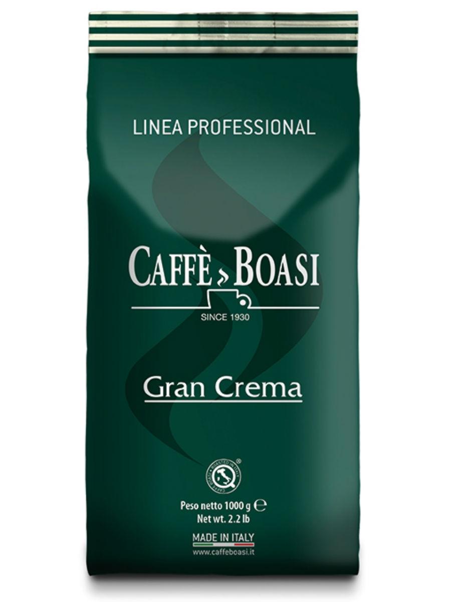 Кофе в зернах Caffe Boasi Gran Crema Professional, 1 кг, 1000 чай  кофе и какао