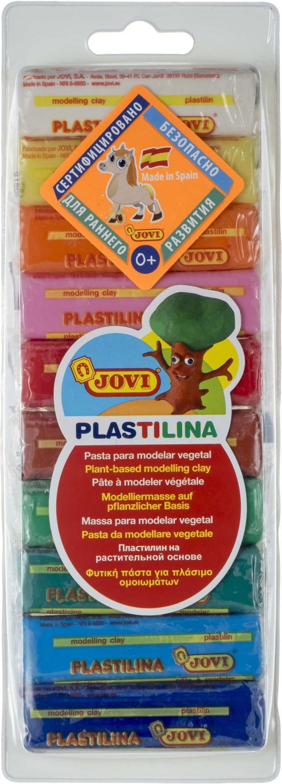 Jovi Пластилин 10 цветов 250 г