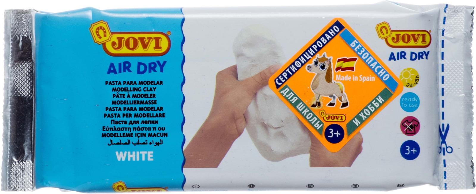 """Паста для моделирования """"Jovi"""", 250 г, цвет: белый"""