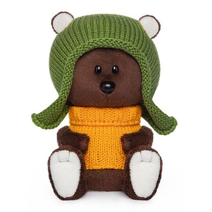 Мягкая игрушка Budi Basa col Медведь Федот в шапочке коричневый цена