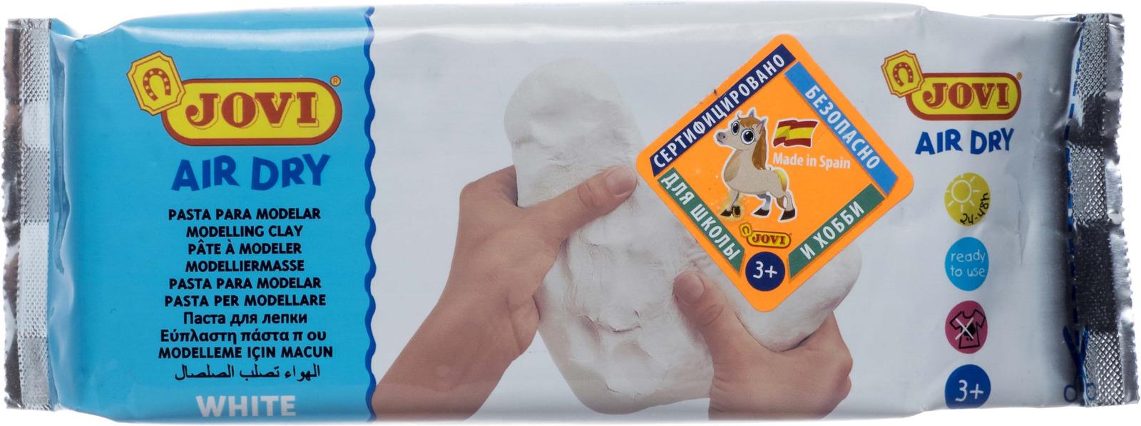 Паста для моделирования Jovi, 500 г, цвет: белый rummo casarecce 88 паста 500 г