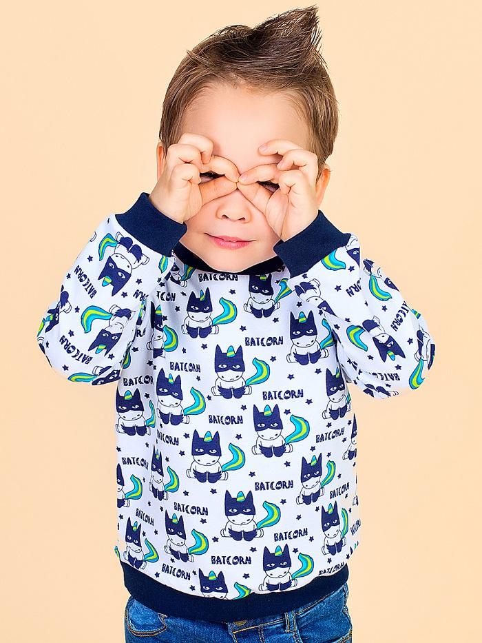 Толстовка Веселый малыш толстовка для мальчика веселый малыш камуфляж цвет хаки 164 140 саф размер 110