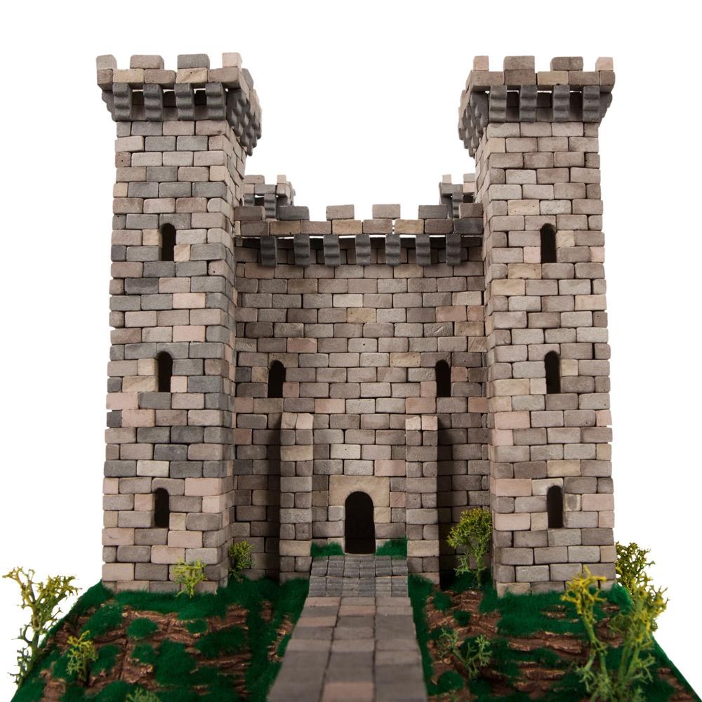 Конструктор из кирпичиков alexterra Рыцарский замок рыцарский замок благородный герой книжка конструктор