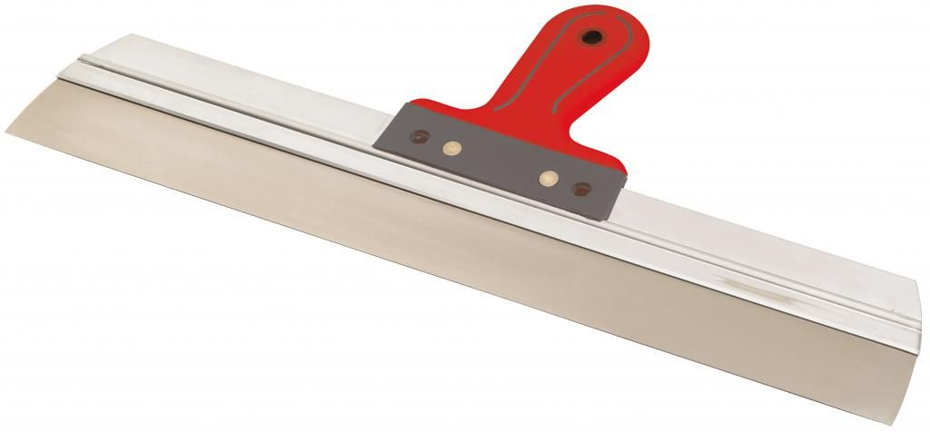 Шпатель Loutil Parfait 500 мм537050537050Лезвие из нержавеющей стали, алюминиевое ребро жесткости. Эргономичная ручка из двух материалов.