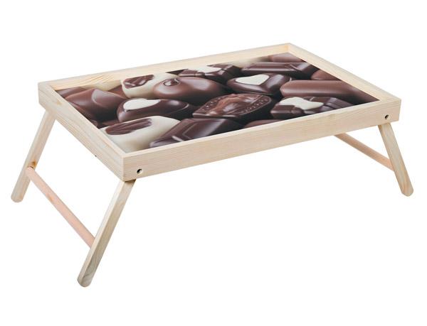 Поднос Дубравия Шоколад, светло-коричневый