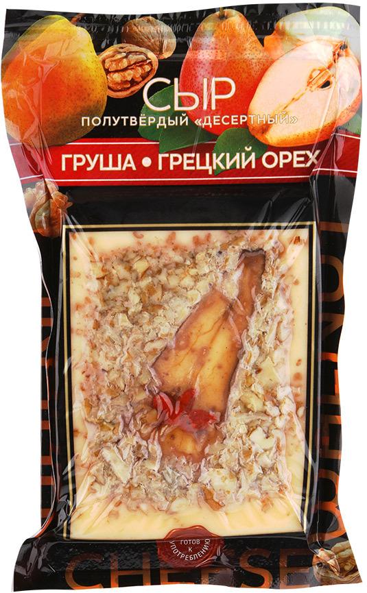 Amyga Сыр Десертный с Грушей и Грецким орехом, 150 г
