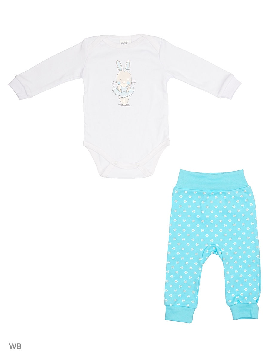 Комплект одежды LAURA DOFI комплекты детской одежды yoga sprout комплект боди 2 шт и штанишки 90151