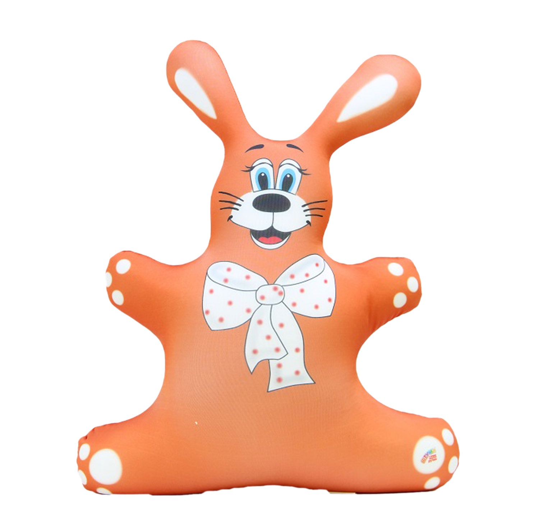 Игрушка антистресс Штучки, к которым тянутся ручки Заяц оранжевый игрушка антистресс штучки к которым тянутся ручки лиса открытка в ассортименте 18асо03ив