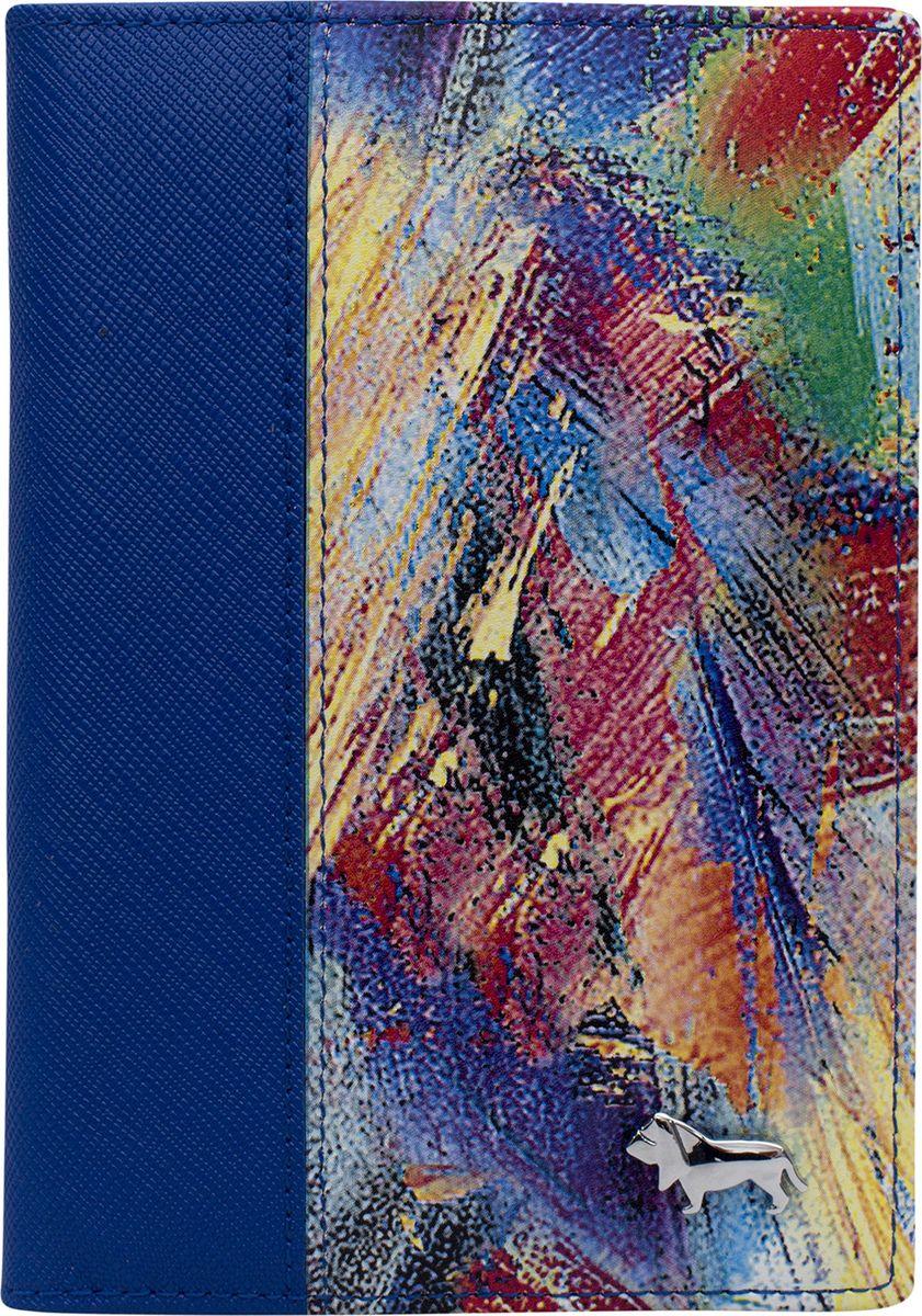 Обложка для документов женская Labbra, L080-0011, синий цена