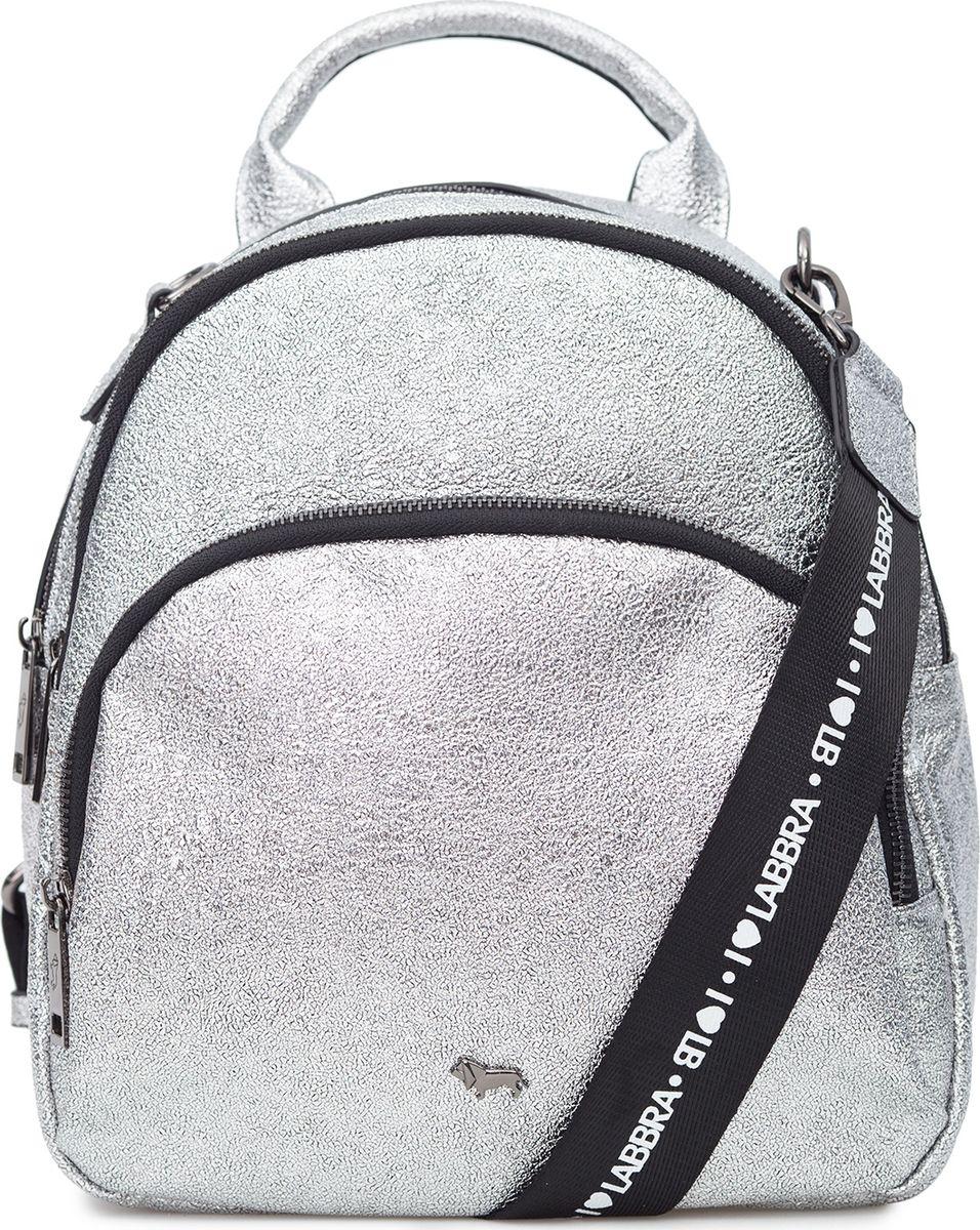 Рюкзак женский Labbra, L-D186099-2, серебристый цена 2017
