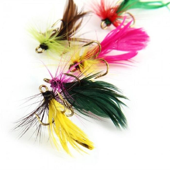 Набор приманок для рыбалки AGP Набор мушек 12 шт, 12