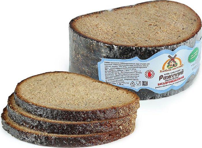 Хлеб заварной Хлебное Местечко Рижский, нарезка, 240 г