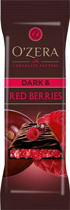 Шоколад горький Озерский сувенир Dark & Red berries, 15 шт по 40 г горячий шоколад la festa горький 10 шт по 22 г
