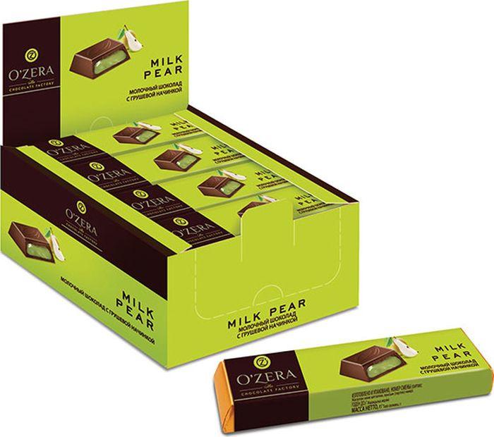 Шоколад молочный Озерский сувенир, с грушевой начинкой, 20 шт по 50 г цена в Москве и Питере