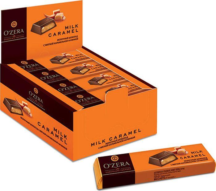 Шоколад молочный Озерский сувенир, с карамельной начинкой, 20 шт по 50 г цена в Москве и Питере