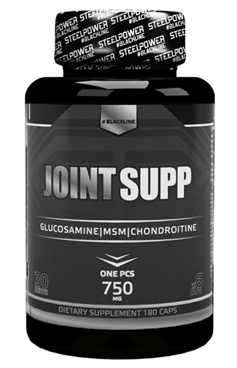Глюкозамин и Хондроитин SteelPower Nutrition JOINT SUPP, 180 капсул