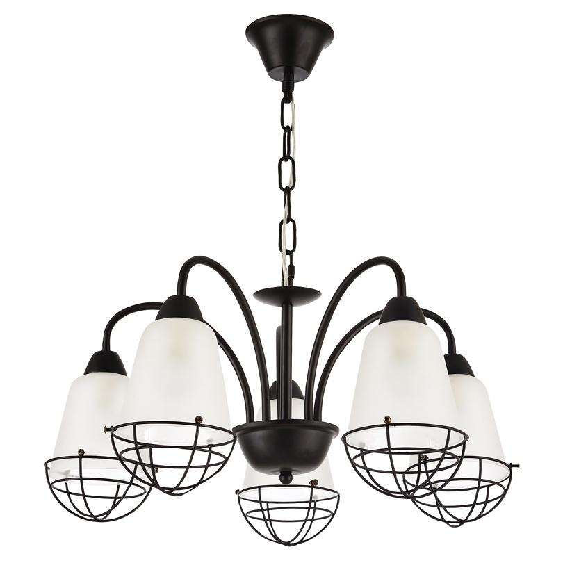 Подвесной светильник Lumin'arte PRISON-CL60E14-5WB, E14, 60 Вт подвесной светильник astral agnes 12 ламп