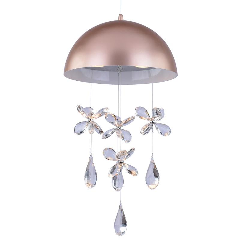 Подвесной светильник Lumin'arte Alegria-PL50GU10-3BG, GU10, 50 Вт подвесной светильник astral agnes 12 ламп