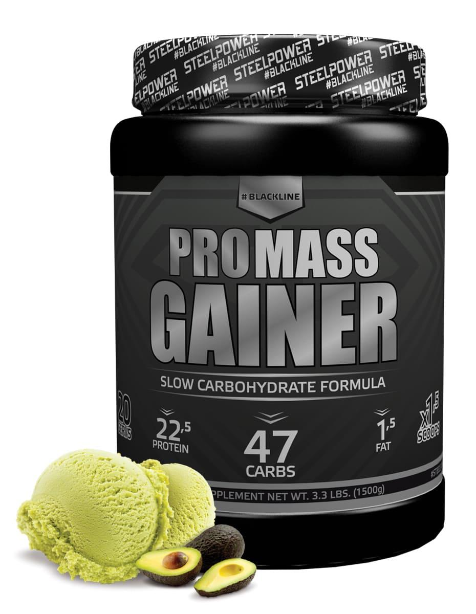 SteelPower PRO MASS GAINER 1500 г, вкус Фисташковое мороженное гейнер optimum nutrition pro gainer клубника 4 45 кг