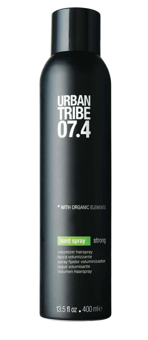 Лак для волос URBAN TRIBE 07.4 Hard Sprey Strong