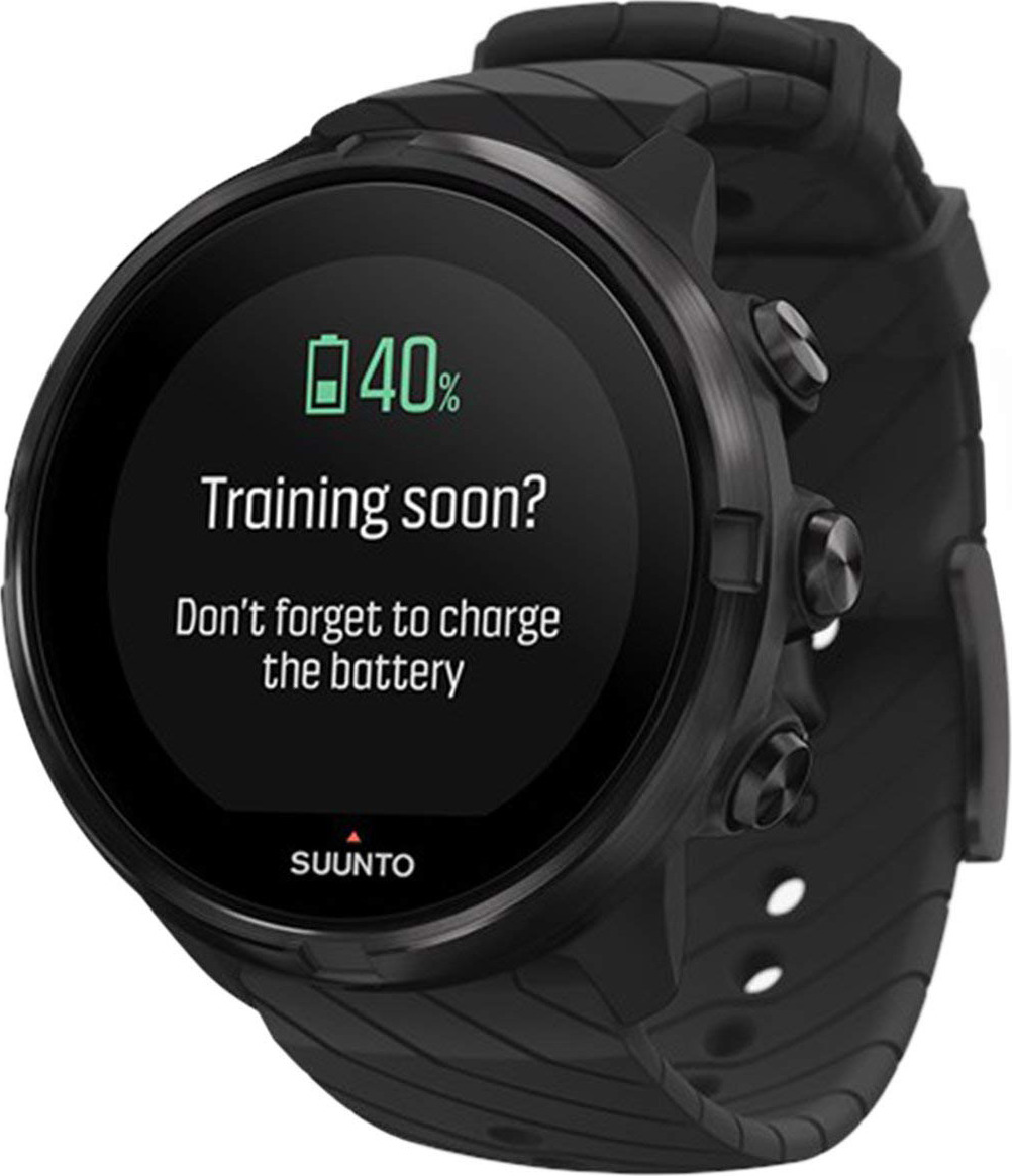 Спортивные часы Suunto 9 G1 All Black Kav, SS050257000, черный suunto d6i all black steel с трансмиттером