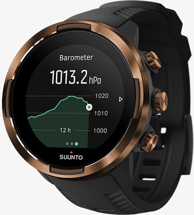 Спортивные часы Suunto 9 G1 Baro Copper, SS050255000, черный