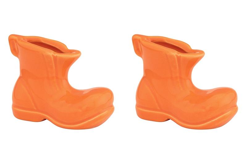 Подставка для зубочисток Elan Gallery Башмачок, оранжевый подставки кухонные elan gallery вазочка под зубочистки сакура на розовом